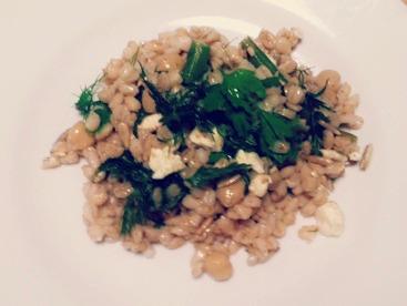 Salade blé - pic