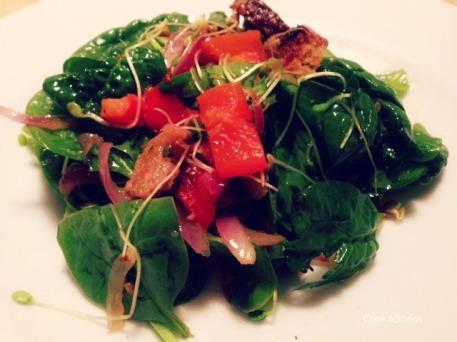 Salade poivrons - pic